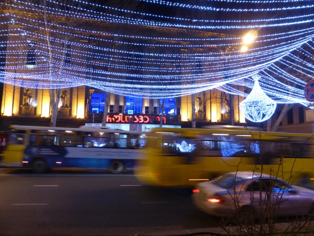 Christmas Lights in Tbilisi