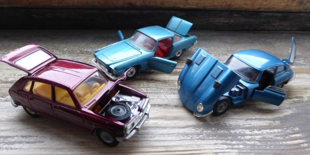 Some old Corgi cars in my collection