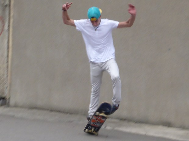 All hail the skateboard king