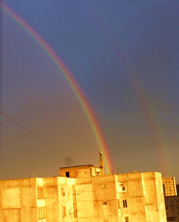 Rainbow in Tbilisi