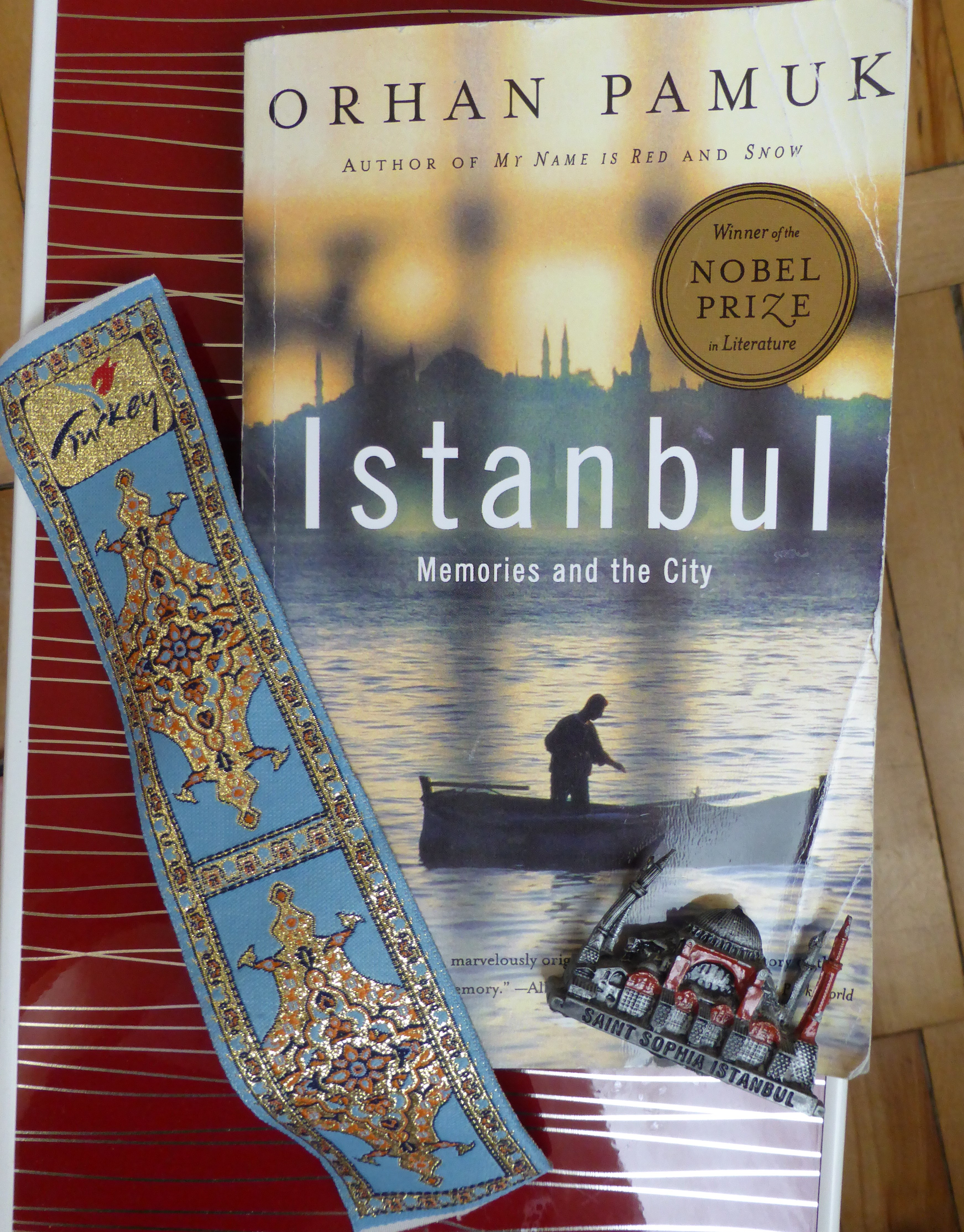 """""""Istanbul"""" by Orhan Pamuk. """""""