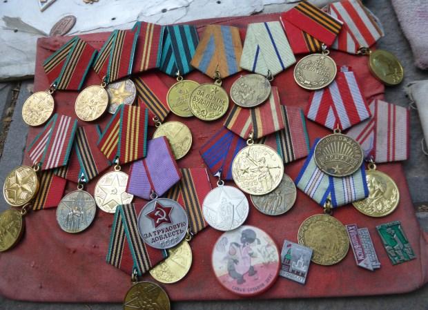 Soviet Medals at Drybridge Market