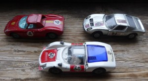 Three Corgi Cars from my collection.