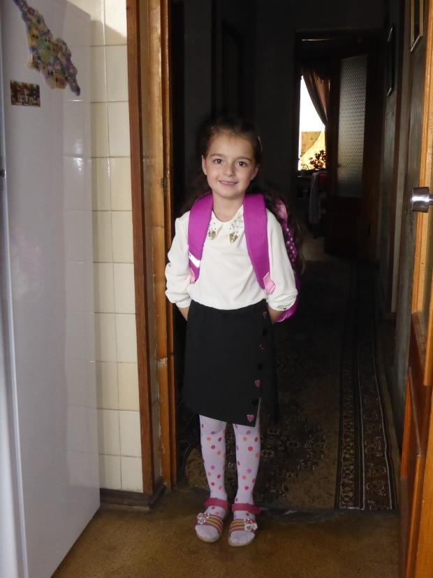 Ana ready for school