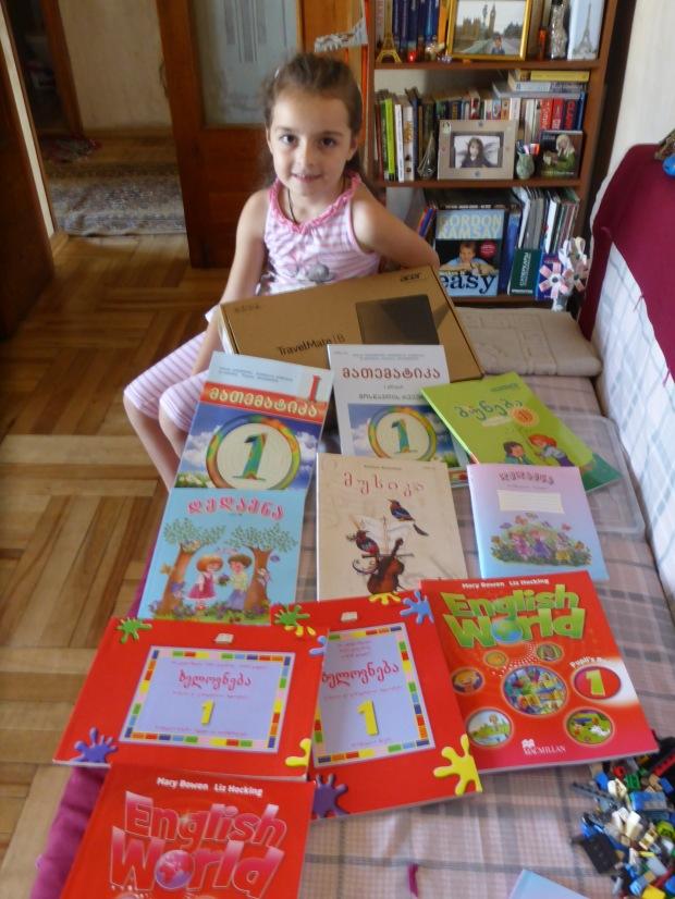 Ana's school books
