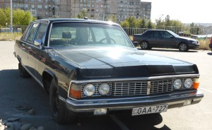 Prime Soviet Shite GAZ Chaika M14