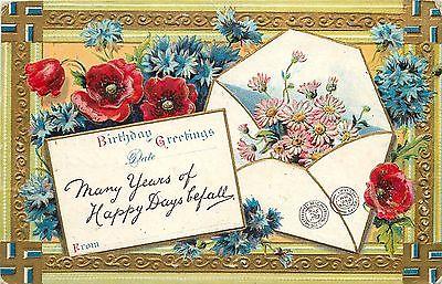 1909 notecard