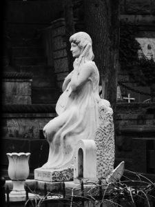 Vake Cemetery Statues