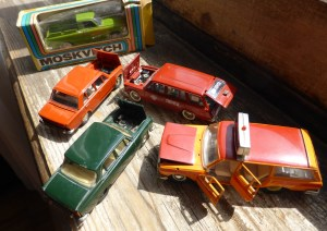 Models of cars made in USSR