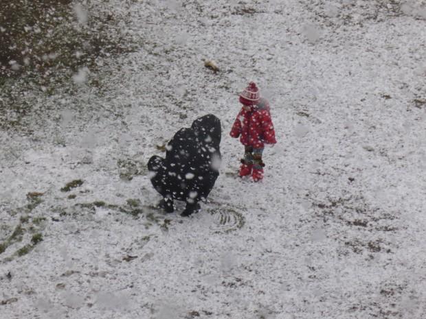 როგორ თოვს
