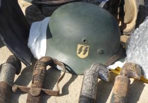 An SS Helmet from World War II