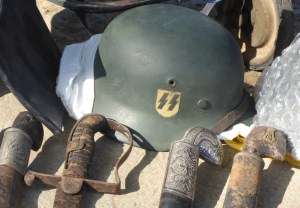 An SS Helmet from World War II