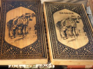 Backgammon or Nardi boards