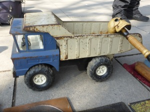 toy lorry made in the Lada Factory