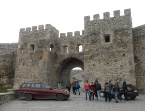 Entrance to Akhaltsikhe Castle