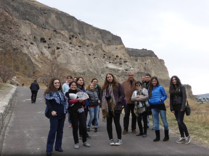 our group at Vardzia