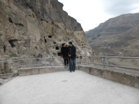 Khato and Me at Vardzia