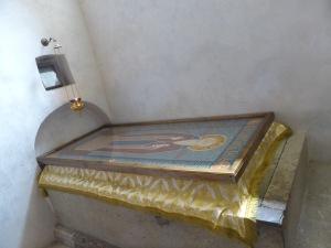 St Davit Garajeli's grave