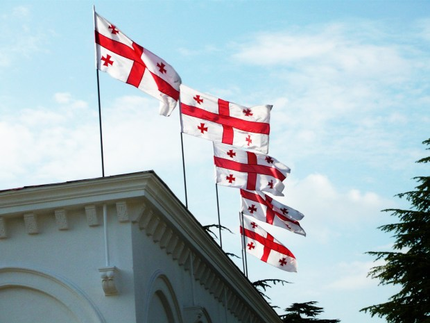 Georgian flags
