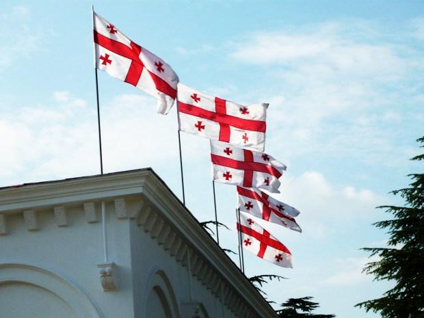 Georgian flags