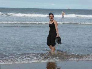 Khato braves the North Sea