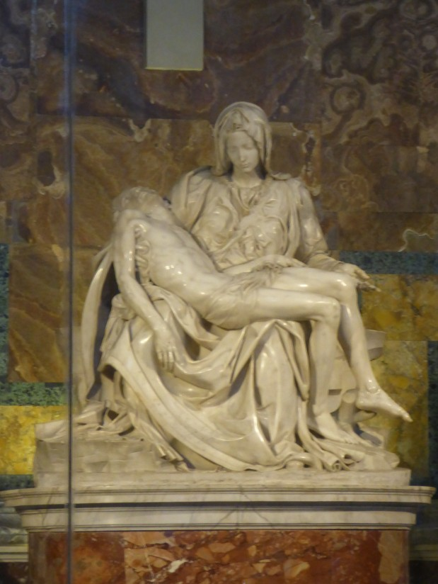 The Pietà by Michelangelo