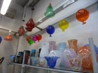 balloons made of Murano glass