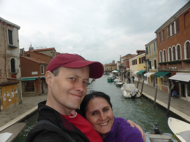 Khato and I in Murano