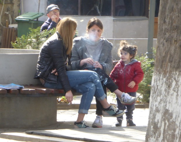 smoking and kids