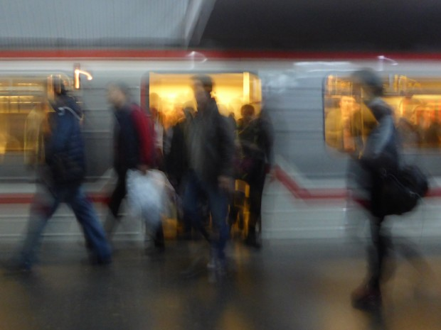 impressionistic metro