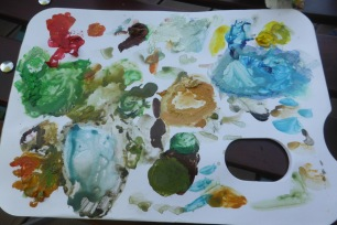 my palette: after