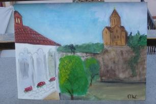 Oksana's painting